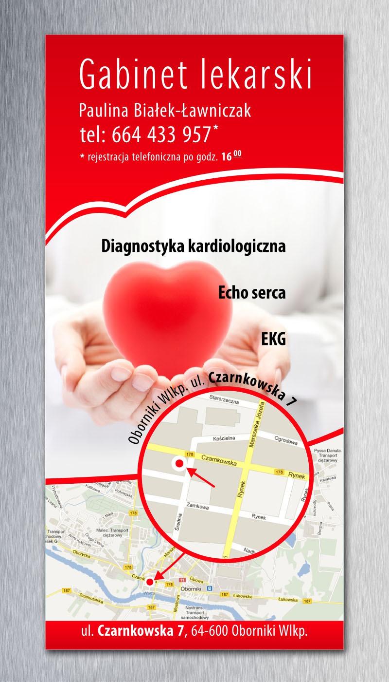 Ulotka usługi kardiologiczne