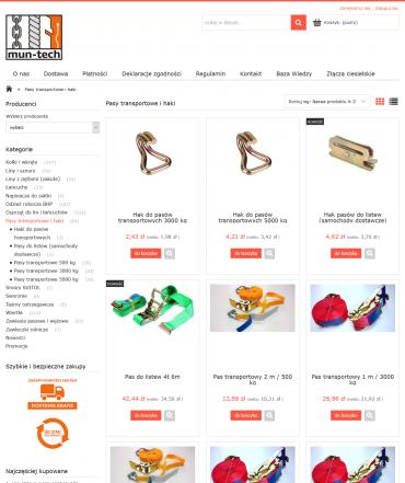 Content marketing dla Muntech24 | Jakość w technice zamocowań