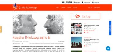 Content marketing dla Strefa Rozwoju | Książka: (Nie)zwyczajne Ja