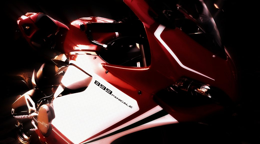 Motocykl Ducati 899 Panigale Baby Panigale by SSR