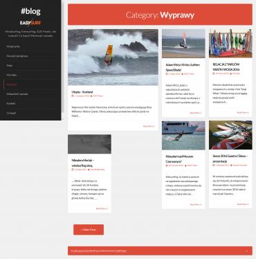 Prowadzenie bloga EASY SURF | sporty wodne dla każdego
